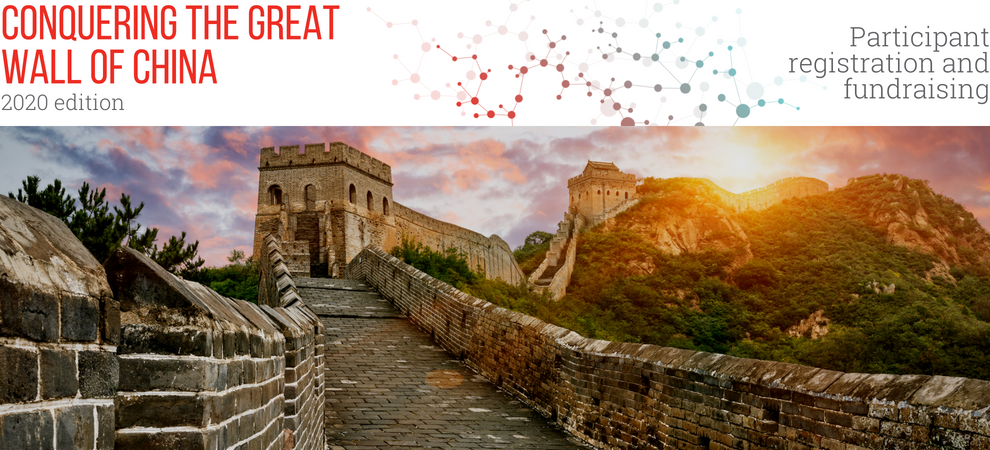 2019 Edition of Conquering the Great Wall of China